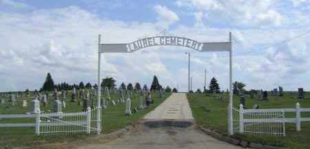 *LAUREL CEMETERY, ENTRANCE - Cedar County, Nebraska   ENTRANCE *LAUREL CEMETERY - Nebraska Gravestone Photos