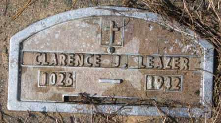 LEAZER, CLARENCE J. - Cedar County, Nebraska | CLARENCE J. LEAZER - Nebraska Gravestone Photos