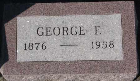 LEFFELMAN, GEORGE F. - Cedar County, Nebraska | GEORGE F. LEFFELMAN - Nebraska Gravestone Photos