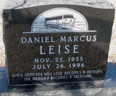 LEISE, DANIEL MARCUS - Cedar County, Nebraska | DANIEL MARCUS LEISE - Nebraska Gravestone Photos