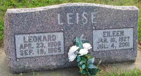 LEISE, EILEEN - Cedar County, Nebraska   EILEEN LEISE - Nebraska Gravestone Photos