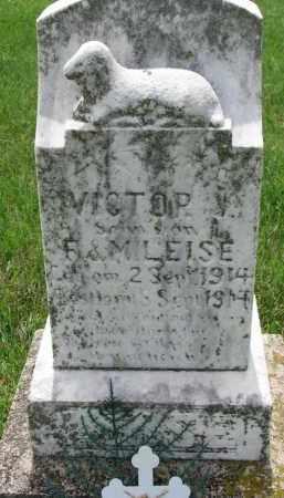 LEISE, VICTOR - Cedar County, Nebraska   VICTOR LEISE - Nebraska Gravestone Photos