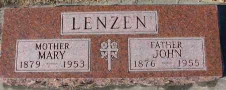 LENZEN, JOHN - Cedar County, Nebraska | JOHN LENZEN - Nebraska Gravestone Photos