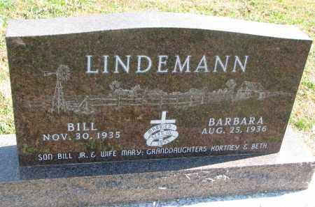 LINDEMANN, BILL - Cedar County, Nebraska   BILL LINDEMANN - Nebraska Gravestone Photos