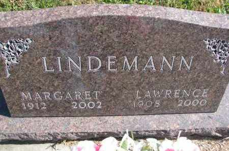 LINDEMANN, LAWRENCE - Cedar County, Nebraska | LAWRENCE LINDEMANN - Nebraska Gravestone Photos