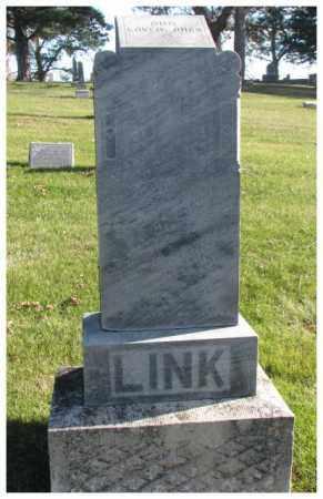 LINK, CLIFFORD - Cedar County, Nebraska   CLIFFORD LINK - Nebraska Gravestone Photos