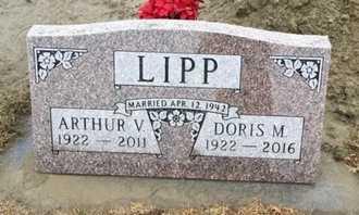 LIPP, DORIS M - Cedar County, Nebraska | DORIS M LIPP - Nebraska Gravestone Photos