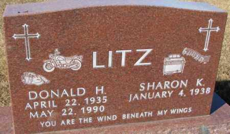 LITZ, SHARON K. - Cedar County, Nebraska | SHARON K. LITZ - Nebraska Gravestone Photos