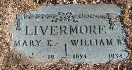LIVERMORE, MARY - Cedar County, Nebraska | MARY LIVERMORE - Nebraska Gravestone Photos