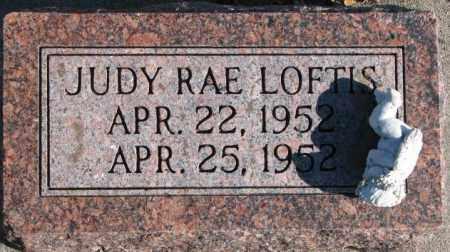 LOFTIS, JUDY RAE - Cedar County, Nebraska | JUDY RAE LOFTIS - Nebraska Gravestone Photos