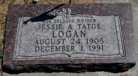 LOGAN, JESSIE A. - Cedar County, Nebraska | JESSIE A. LOGAN - Nebraska Gravestone Photos