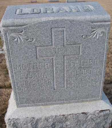 LORANG, SUSANA - Cedar County, Nebraska   SUSANA LORANG - Nebraska Gravestone Photos