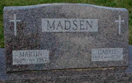 MADSEN, MARTIN - Cedar County, Nebraska | MARTIN MADSEN - Nebraska Gravestone Photos
