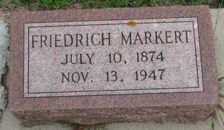 MARKERT, FRIEDRICH - Cedar County, Nebraska | FRIEDRICH MARKERT - Nebraska Gravestone Photos