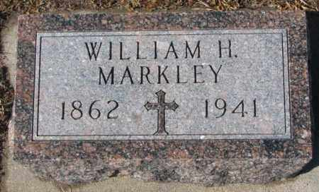 MARKLEY, WILLIAM H. - Cedar County, Nebraska | WILLIAM H. MARKLEY - Nebraska Gravestone Photos
