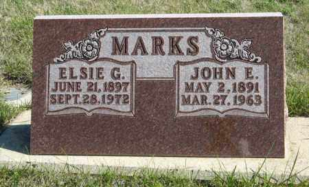 MARKS, JOHN E. - Cedar County, Nebraska | JOHN E. MARKS - Nebraska Gravestone Photos