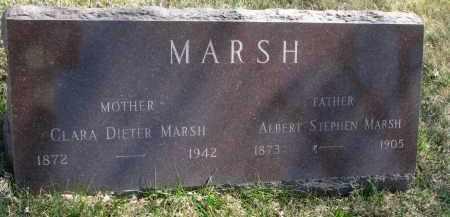 MARSH, ALBERT STEPHEN - Cedar County, Nebraska | ALBERT STEPHEN MARSH - Nebraska Gravestone Photos