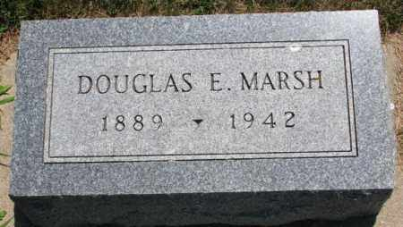 MARSH, DOUGLAS E. - Cedar County, Nebraska | DOUGLAS E. MARSH - Nebraska Gravestone Photos