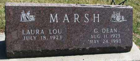 MARSH, G. DEAN - Cedar County, Nebraska | G. DEAN MARSH - Nebraska Gravestone Photos
