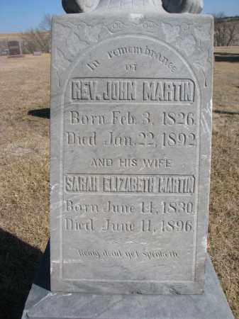 MARTIN, JOHN (CLOSEUP) - Cedar County, Nebraska   JOHN (CLOSEUP) MARTIN - Nebraska Gravestone Photos