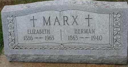 MARX, HERMAN - Cedar County, Nebraska | HERMAN MARX - Nebraska Gravestone Photos