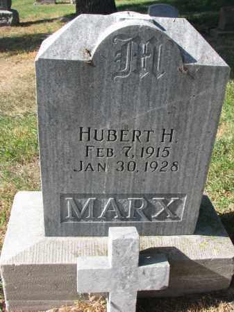 MARX, HUBERT H. - Cedar County, Nebraska | HUBERT H. MARX - Nebraska Gravestone Photos