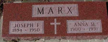 MARX, JOSEPH F. - Cedar County, Nebraska | JOSEPH F. MARX - Nebraska Gravestone Photos