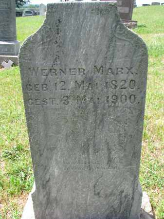 MARX, WERNER - Cedar County, Nebraska | WERNER MARX - Nebraska Gravestone Photos