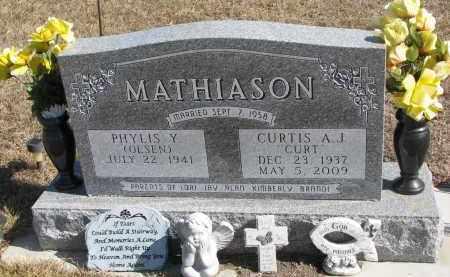 MATHIASON, PHYLIS Y. - Cedar County, Nebraska | PHYLIS Y. MATHIASON - Nebraska Gravestone Photos
