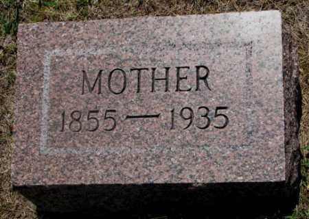 MATTINGLEY, MOTHER - Cedar County, Nebraska | MOTHER MATTINGLEY - Nebraska Gravestone Photos
