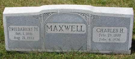 MAXWELL, CHARLES H. - Cedar County, Nebraska | CHARLES H. MAXWELL - Nebraska Gravestone Photos