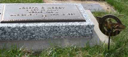 MCCOY, JOESPH D - Cedar County, Nebraska   JOESPH D MCCOY - Nebraska Gravestone Photos