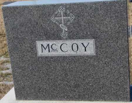 MCCOY, PLOT - Cedar County, Nebraska | PLOT MCCOY - Nebraska Gravestone Photos