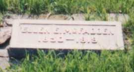 GRIFFIN MCFADDEN, ELLEN E - Cedar County, Nebraska | ELLEN E GRIFFIN MCFADDEN - Nebraska Gravestone Photos