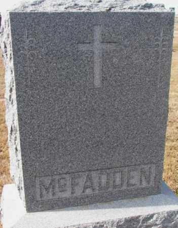 MCFADDEN, PLOT - Cedar County, Nebraska | PLOT MCFADDEN - Nebraska Gravestone Photos