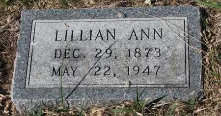 MCKENZIE, LILLIAN ANN - Cedar County, Nebraska | LILLIAN ANN MCKENZIE - Nebraska Gravestone Photos