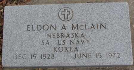 MCLAIN, ELDON A. (KOREA) - Cedar County, Nebraska | ELDON A. (KOREA) MCLAIN - Nebraska Gravestone Photos