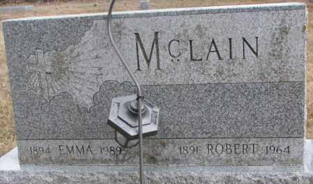 MCLAIN, ROBERT - Cedar County, Nebraska | ROBERT MCLAIN - Nebraska Gravestone Photos