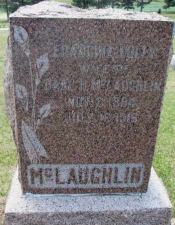 MCLAUGHLIN, FRANCINA - Cedar County, Nebraska | FRANCINA MCLAUGHLIN - Nebraska Gravestone Photos