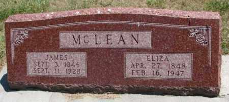 MCLEAN, ELIZA - Cedar County, Nebraska   ELIZA MCLEAN - Nebraska Gravestone Photos