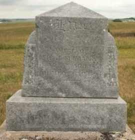 MCMANN, ELLA - Cedar County, Nebraska | ELLA MCMANN - Nebraska Gravestone Photos