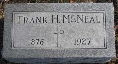 MCNEAL, FRANK H. - Cedar County, Nebraska | FRANK H. MCNEAL - Nebraska Gravestone Photos