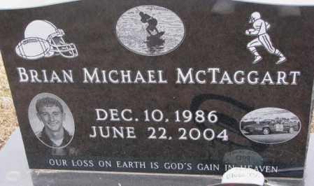 MCTAGGART, BRIAN MICHAEL - Cedar County, Nebraska   BRIAN MICHAEL MCTAGGART - Nebraska Gravestone Photos