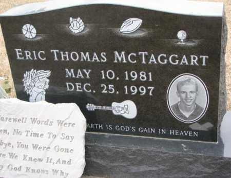 MCTAGGART, ERIC THOMAS - Cedar County, Nebraska | ERIC THOMAS MCTAGGART - Nebraska Gravestone Photos