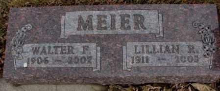 MEIER, LILLIAN R. - Cedar County, Nebraska | LILLIAN R. MEIER - Nebraska Gravestone Photos