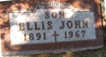 MEINERS, ELLIS JOHN - Cedar County, Nebraska   ELLIS JOHN MEINERS - Nebraska Gravestone Photos