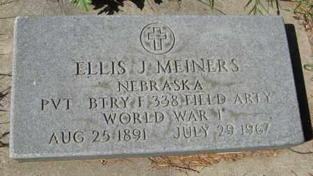 MEINERS, ELLIS J. (MILITARY MARKER) - Cedar County, Nebraska | ELLIS J. (MILITARY MARKER) MEINERS - Nebraska Gravestone Photos