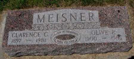 MEISNER, CLARENCE C. - Cedar County, Nebraska | CLARENCE C. MEISNER - Nebraska Gravestone Photos
