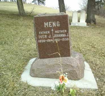 MENG, IVER - Cedar County, Nebraska | IVER MENG - Nebraska Gravestone Photos
