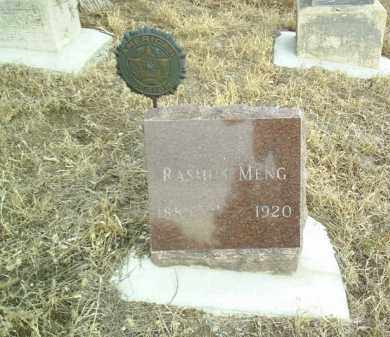 MENG, RASMUS - Cedar County, Nebraska | RASMUS MENG - Nebraska Gravestone Photos